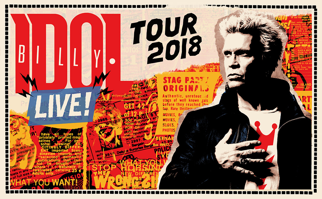 Billy Idol LIVE! 2018