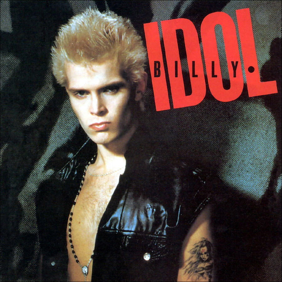 album covers billy idol. Black Bedroom Furniture Sets. Home Design Ideas