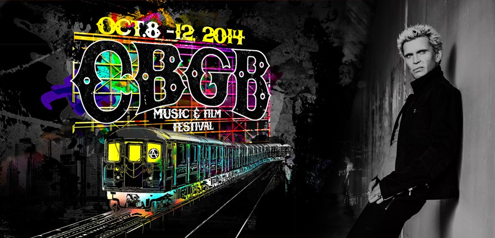 Billy Idol - CBGB Festival 2014