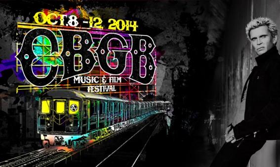 Billy Idol - CBGB Festival 2014