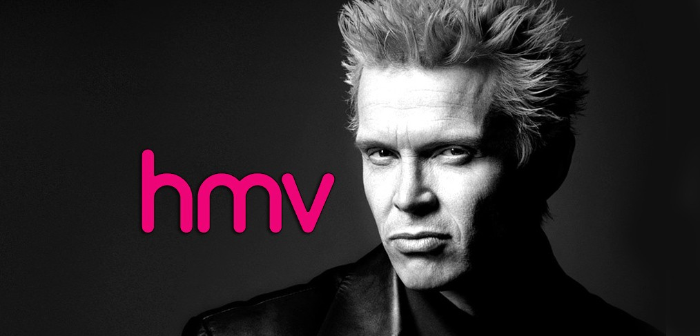 Billy Idol at hmv