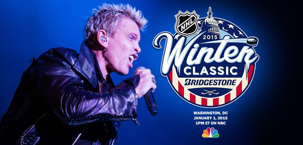 Billy Idol - NHL Winter Classic