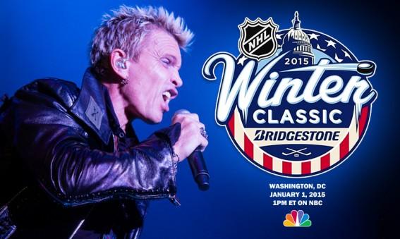 Billy Idol - NHL Winter Classic