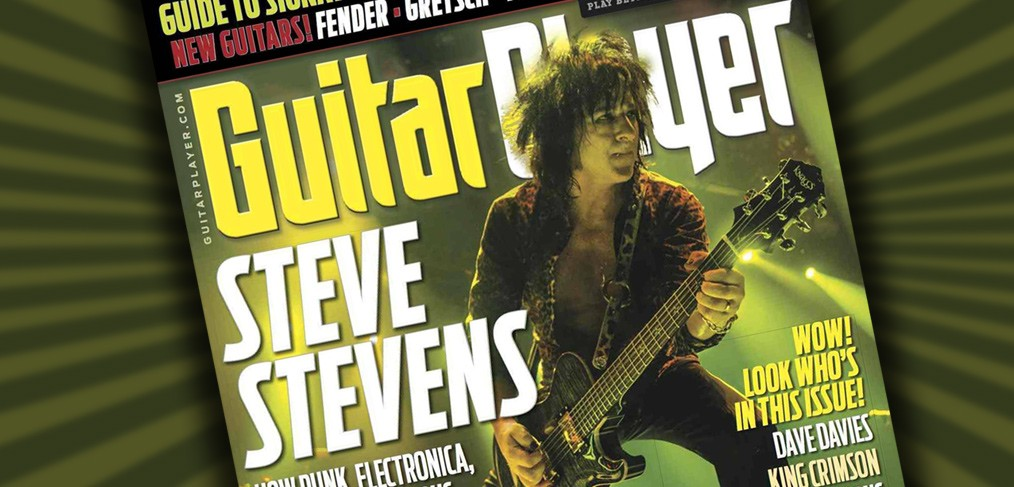 Steve Stevens - Guitar Player Magazine