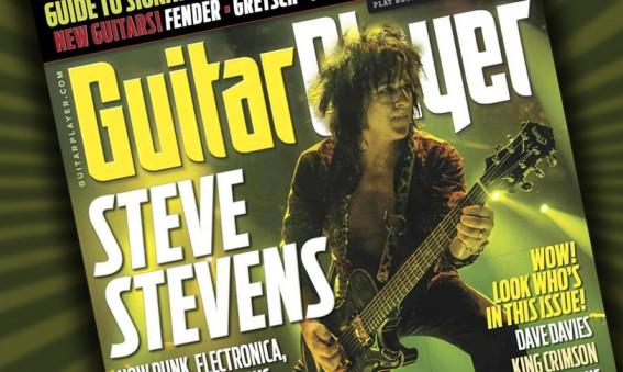 Steve Stevens - Guitar Player Magazine