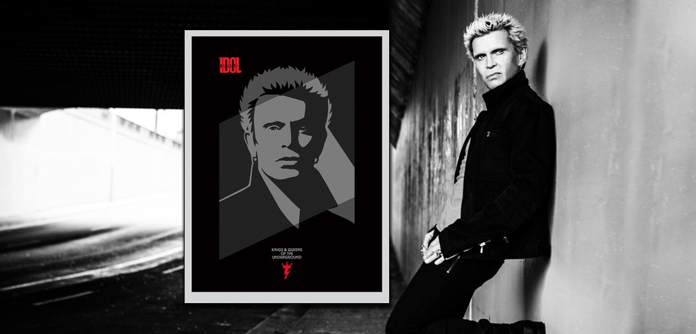 Billy Idol by Shepard Fairey
