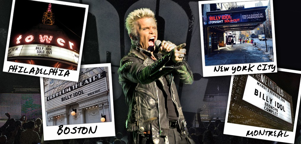 Billy Idol Concerts