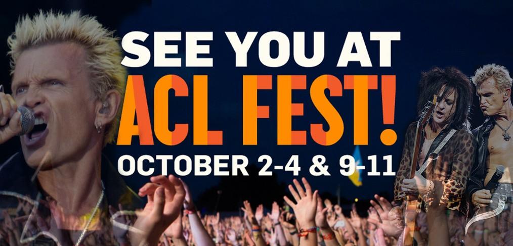 Billy Idol - Austin City Limits Festival