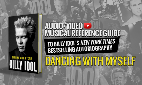 BiIly Idol - Dancing With Myself (book)