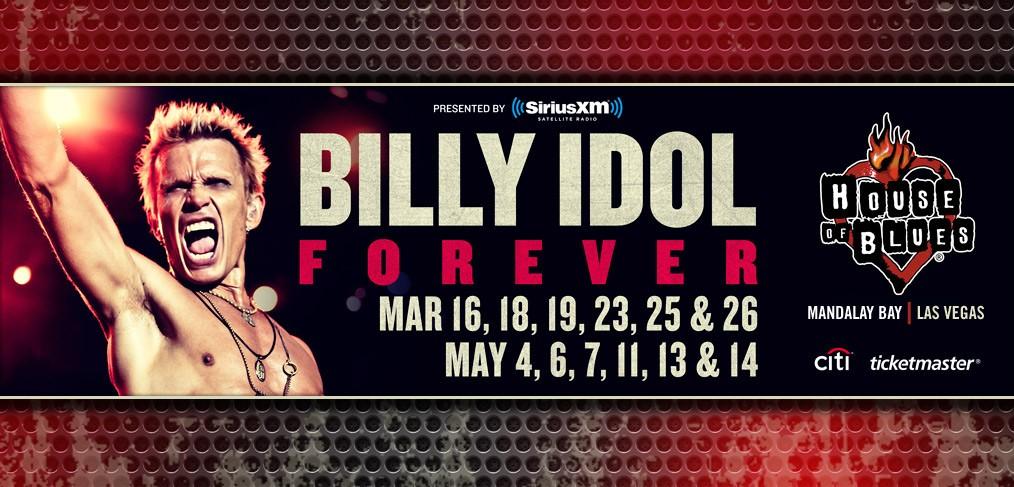 BILLY IDOL FOREVER