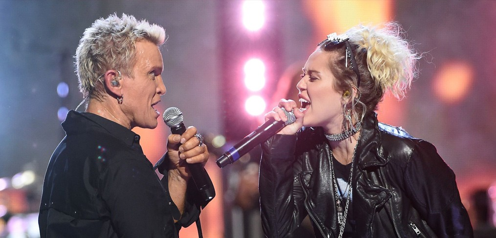 Billy Idol Miley Cyrus