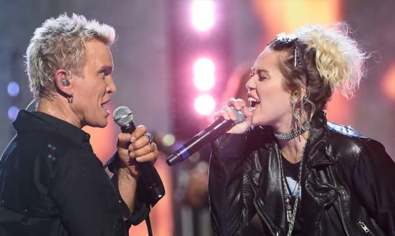 Billy Idol Miley Cyrus