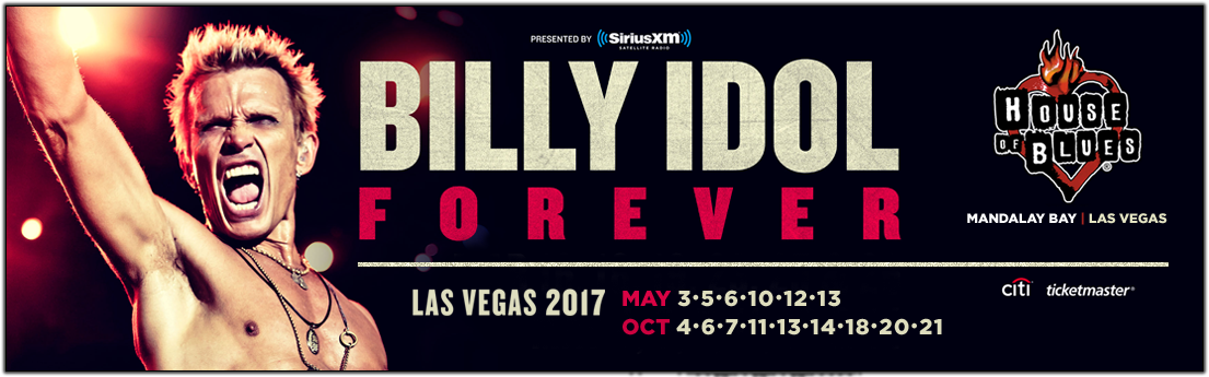 Billy Idol Las Vegas