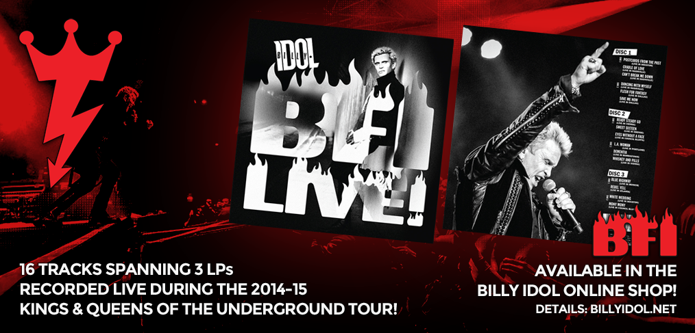 Billy Idol Live