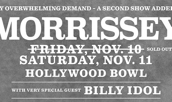 Morrissey and Billy Idol