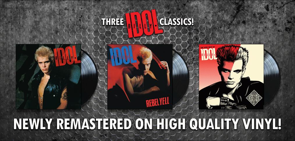 Billy Idol Vinyl