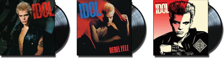 NEW REMASTERED VINYL REISSUES | Billy Idol