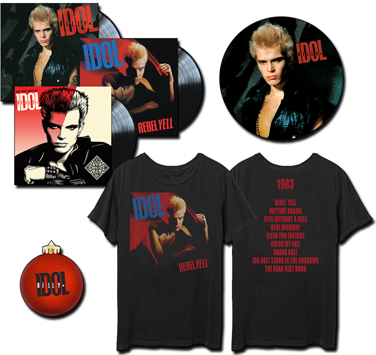 Billy Idol Vinyl