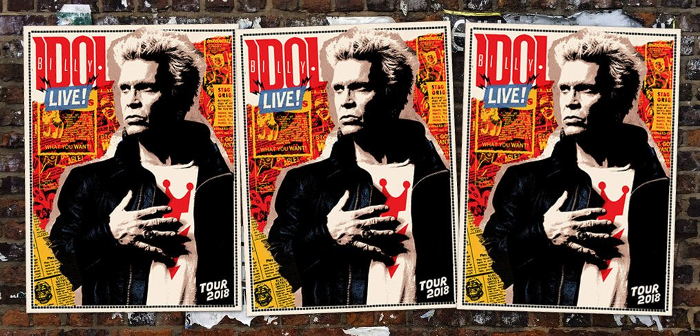 Billy Idol Tour