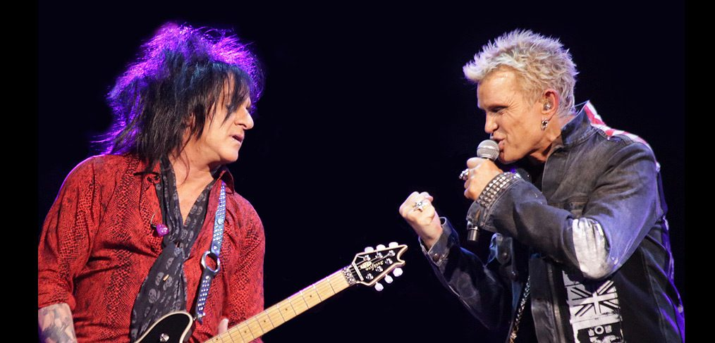 Billy Idol & Steve Stevens