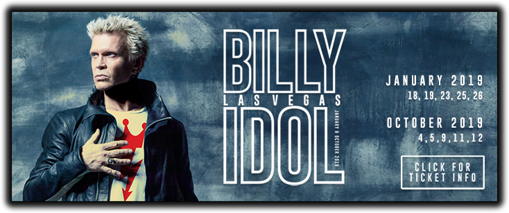 Billy Idol: Las Vegas 2019