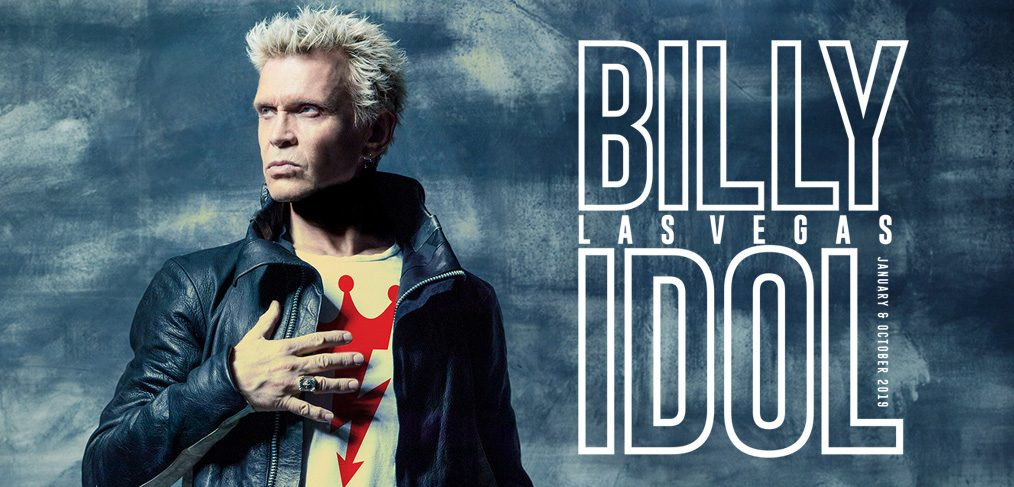 billy idol las vegas 2019