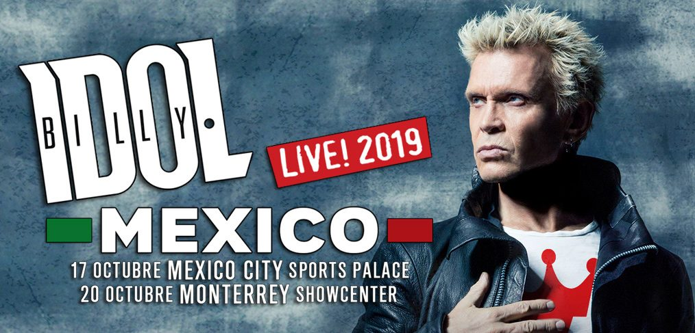 Billy Idol Mexico 2019