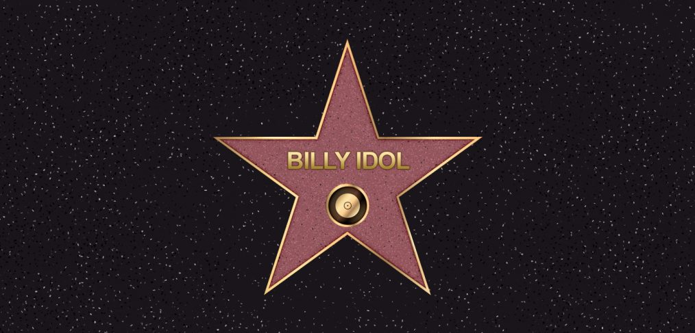 Billy Idol Hollywood Star