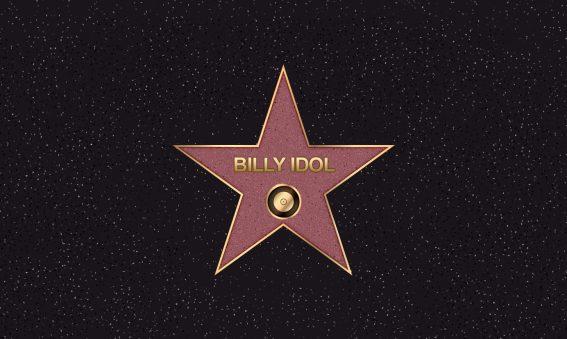 Billy Idol Hollywood Star
