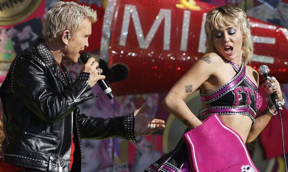 Billy Idol & Miley Cyrus