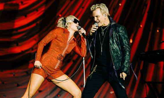 Billy Idol & Miley Cyrus Lollapalooza 2021