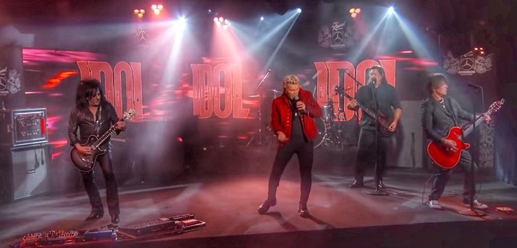 Billy Idol - Jimmy Kimmel Live